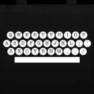 Motif ~ sac machine à écrire