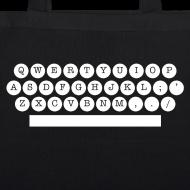 Motif ~ sac bio machine à écrire