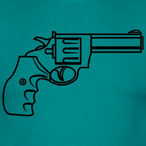 Weapons gun old revolver T-Shirts - Men's T-Shirt