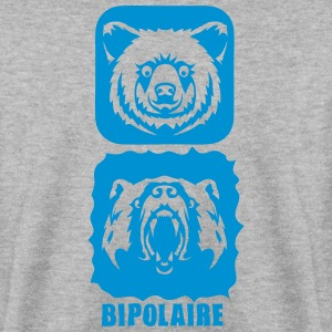 ours bipolaire caractere mechant gentil Sweat-shirts - Sweat-shirt Homme