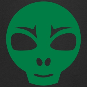 Martian extraterrestrial icon 17062 T-Shirts - Men's V-Neck T-Shirt