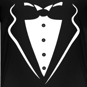 TUXEDO TUXEDO SUIT SHIRT Shirts - Teenager Premium T-shirt