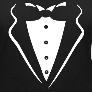 TUXEDO TUXEDO SUIT SHIRT T-Shirts - Women's V-Neck T-Shirt