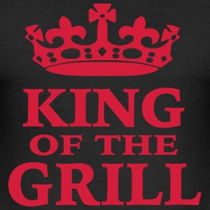 King of the Grill - Männer Slim Fit T-Shirt