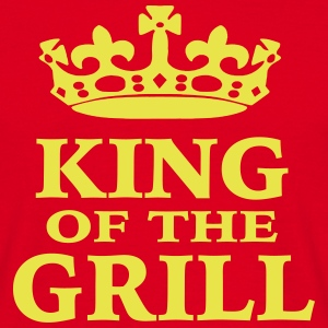 King of the Grill - Männer T-Shirt