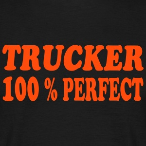 Trucker 100 % perfect 222 T-shirts - Herre-T-shirt