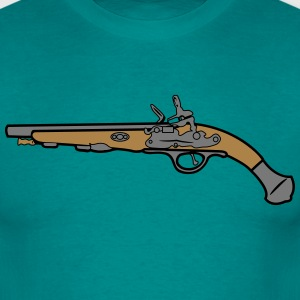 Weapons gun antique T-Shirts - Men's T-Shirt