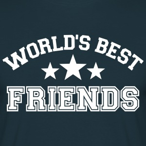 World's best friends T-Shirts - Männer T-Shirt