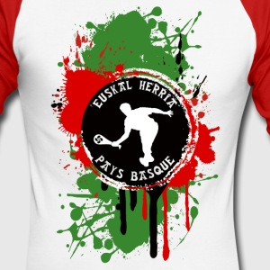 basque sport and tradition 06 Manches longues - T-shirt baseball manches longues Homme