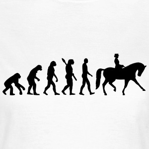 Evolution Dressur T-Shirts - Frauen T-Shirt