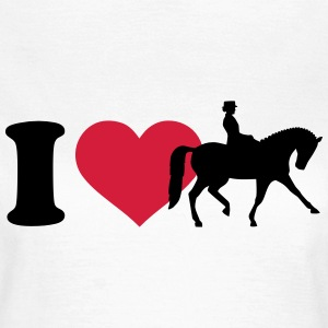 I love Dressur T-Shirts - Frauen T-Shirt
