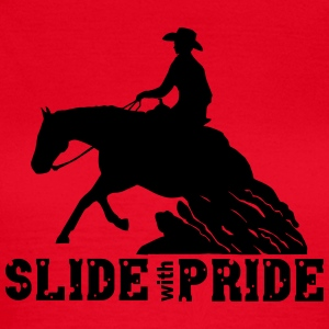 Slide with pride Tee shirts - T-shirt Femme