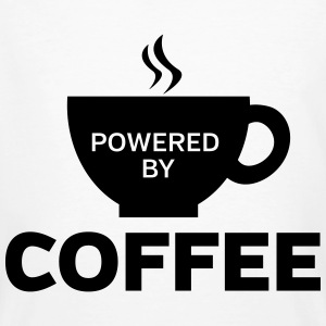 Powered By Coffee T-shirts - Ekologisk T-shirt herr