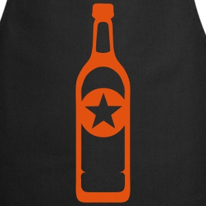 Bottle alcohol aperitif drawing  Aprons - Cooking Apron