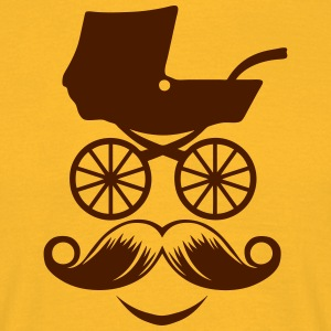 Pram style smiley character T-Shirts - Men's T-Shirt