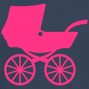 Baby carriage shower pram 406 T-Shirts - Men's Premium T-Shirt