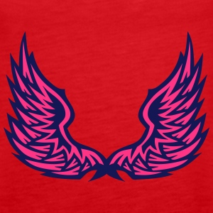 Wing angel  406 Tops - Women's Premium Tank Top