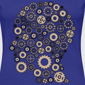 Gear head one colour beig Tee shirts - T-shirt Premium Femme