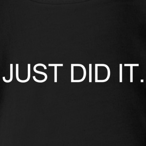 JUST DID IT. Tee shirts - Body bébé bio manches courtes