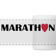 Motiv ~ Coffee Mug: I love running Marathon
