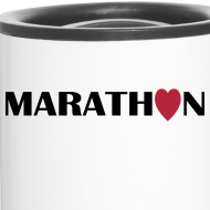 Motiv ~ Thermobecher: I love Marathon