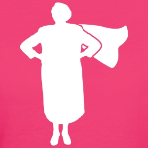 Super Grandma T-Shirts - Frauen Bio-T-Shirt