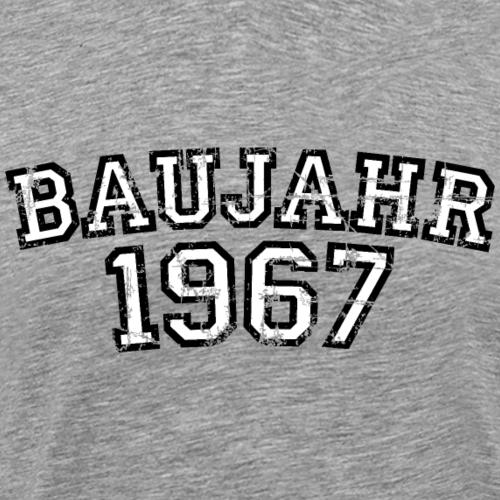 Baujahr 1967 Geburtstag Vintage Design (Weiß)