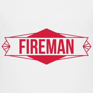 brandmand brand sikkerhed redning firefighter  T-shirts - Teenager premium T-shirt