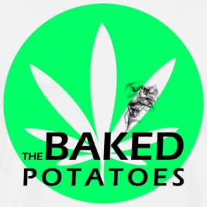 The Baked Potatoes Men's Leaf Tshirt - Men's Premium T-Shirt