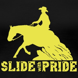 Slide with pride T-skjorter - Premium T-skjorte for kvinner