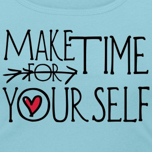 Make time for yourself Women's Scoop Neck T-Shirt - Women's Scoop Neck T-Shirt