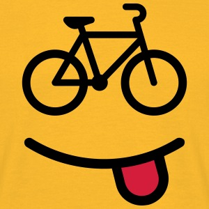 happy bike Tee shirts - T-shirt Homme