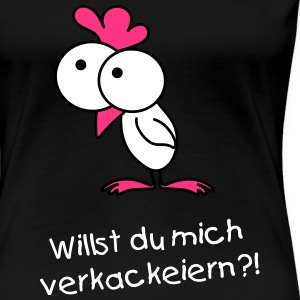 Surprised chick Tee shirts - T-shirt Premium Femme
