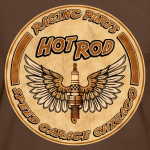 racing parts hot rods Tee shirts - T-shirt contraste Homme