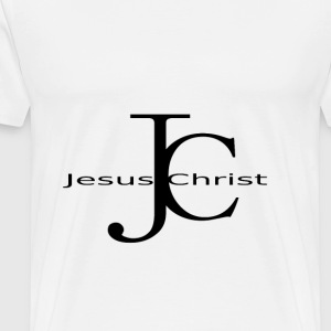 JC - Jesus Christ - Men's Premium T-Shirt