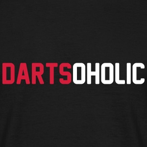 dartsoholic T-Shirts - Men's T-Shirt
