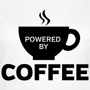 Powered By Coffee T-Shirts - Women's T-Shirt
