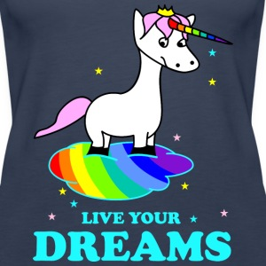 Live your Dreams Toppe - Dame Premium tanktop
