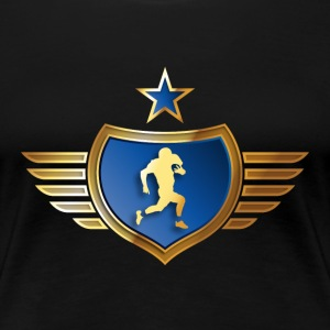 american_football_072015_c16 T-Shirts - Frauen Premium T-Shirt