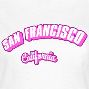 Los-Angeles-California-li T-Shirts - Frauen T-Shirt