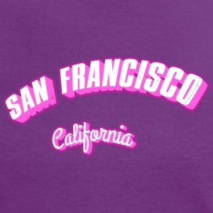 Los-Angeles-California-li T-Shirts - Frauen Kontrast-T-Shirt