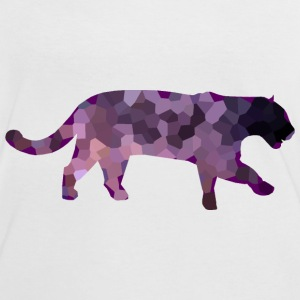 Patchwork Jaguar T-Shirts - Women's Ringer T-Shirt