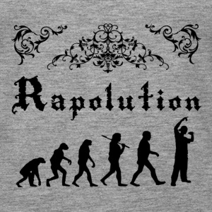 Rap Evolution Tops - Camiseta de tirantes premium mujer
