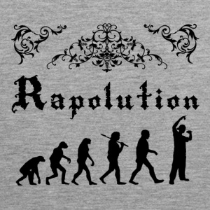 Rap Evolution Tank topy - Tank top męski Premium