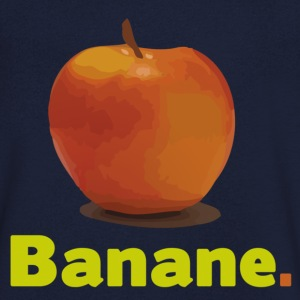 APPLE OR BANANA T-shirts - Mannen T-shirt met V-hals