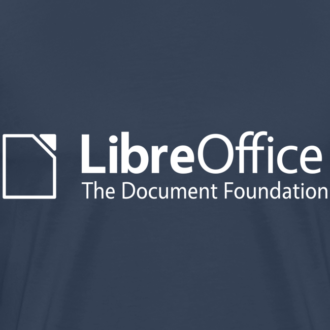 LibreOffice T-Shirt for men, black