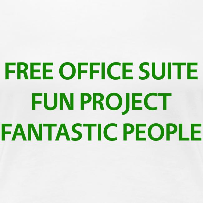LibreOffice T-Shirt for women