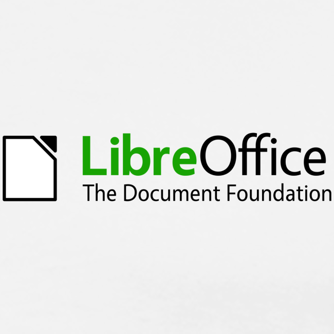 LibreOffice T-Shirt for men, small logo