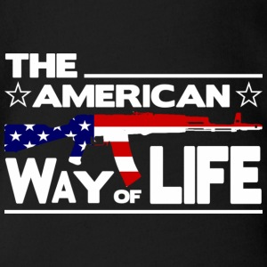 THE AMERICAN WAY Shirts - Baby bio-rompertje met korte mouwen
