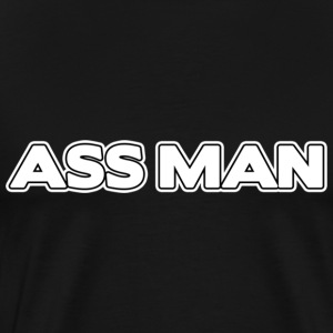 Ass man T-Shirts - Men's Premium T-Shirt